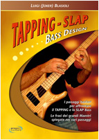 tapping slap bass design luigi blasioli
